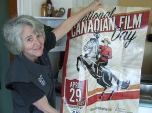 Helen Tyson shows film day poster