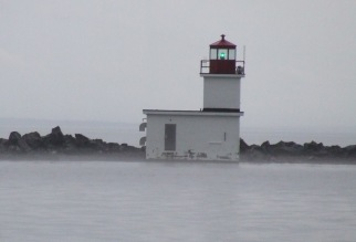 Xmas lighthouse 2
