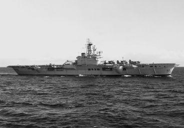 Aircraft carrier HMCS Bonaventure