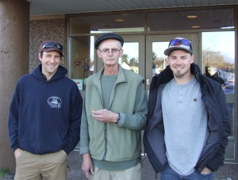 L-R: Evan Densmore, Con Byers, Nick Densmore