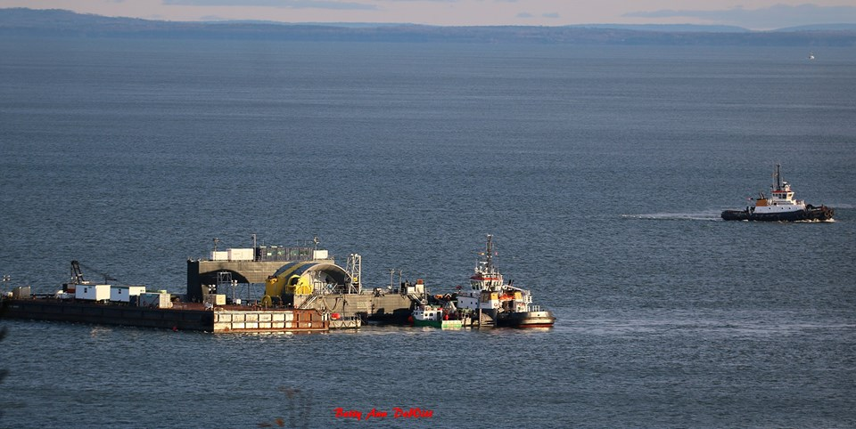 Final preparations underway for tricky Fundy tidal turbine deployment |