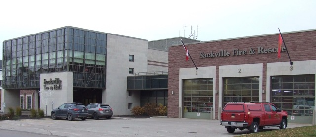 Sackville Town Hall and Fire Station