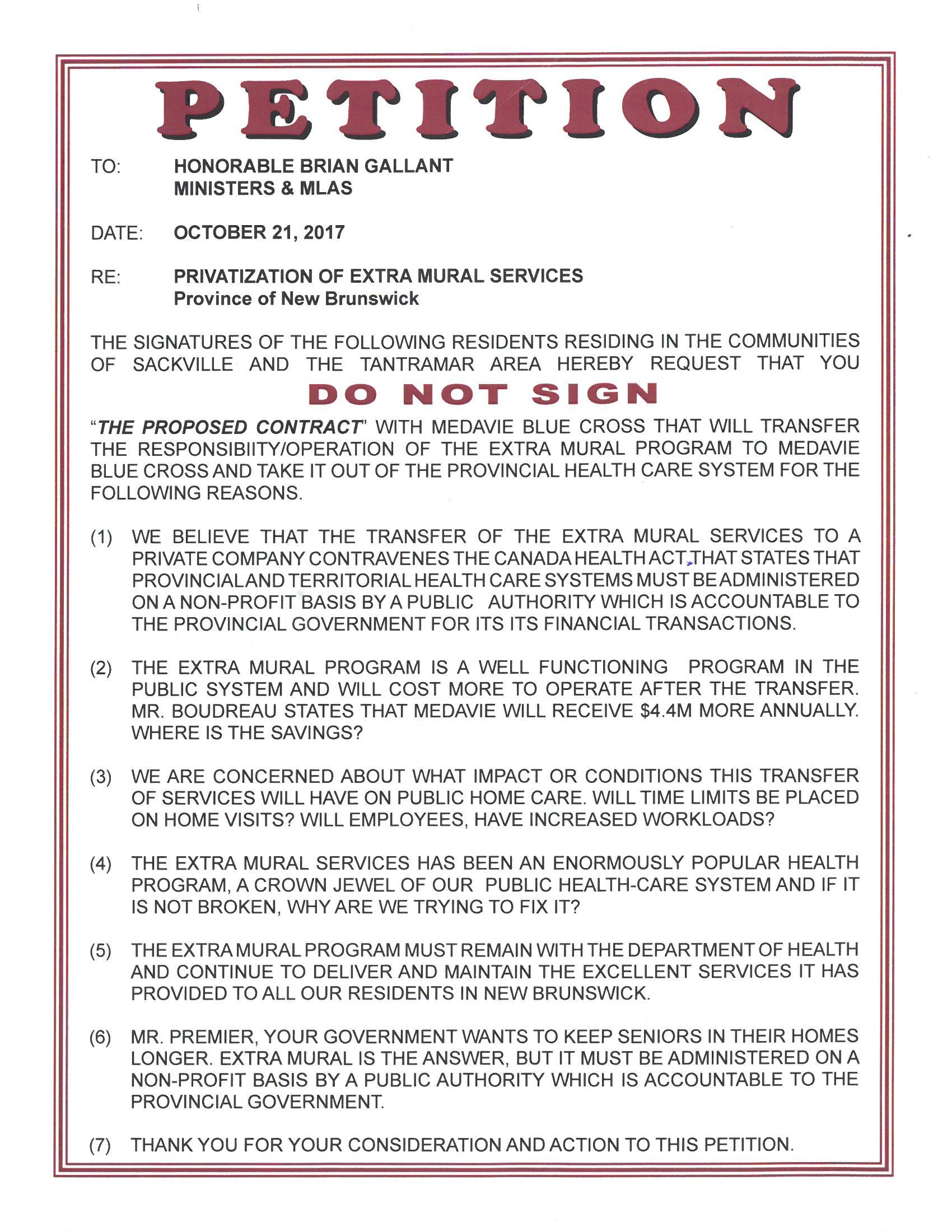 c994de69885 Petition organized by Pat Estabrooks (click to enlarge)